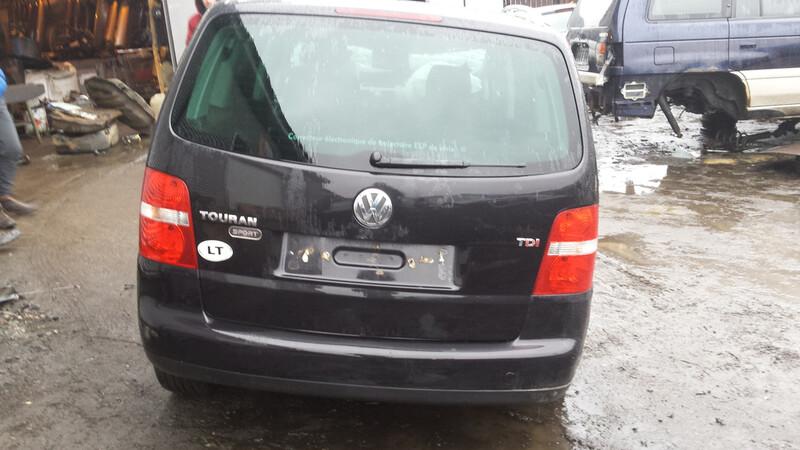Volkswagen Touran I 103kw 2006 m. dalys