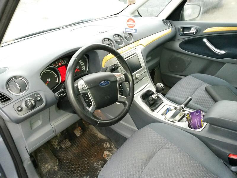 Ford Galaxy MK3 2007 m. dalys