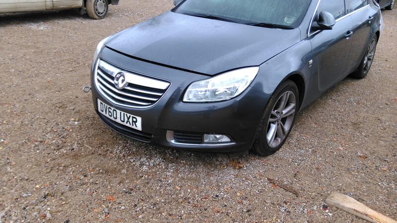 Opel Insignia 2011 m. dalys