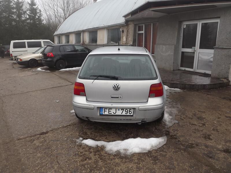 Volkswagen Golf IV 1.9 66 kw 1999 m. dalys
