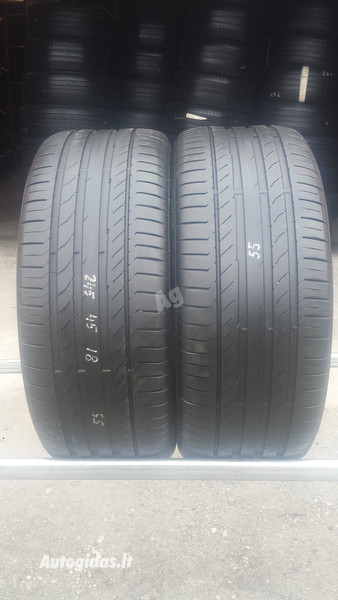 Continental Conti Sport Contact5 R18 summer  tyres passanger car