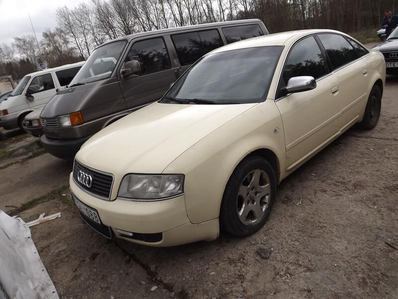 Audi A6 C5 2.5 120KW-VAREATOR 2003 m. dalys