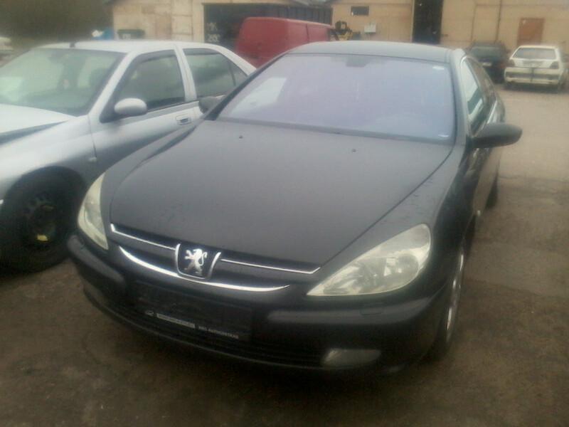 Peugeot 607 2003 m dalys
