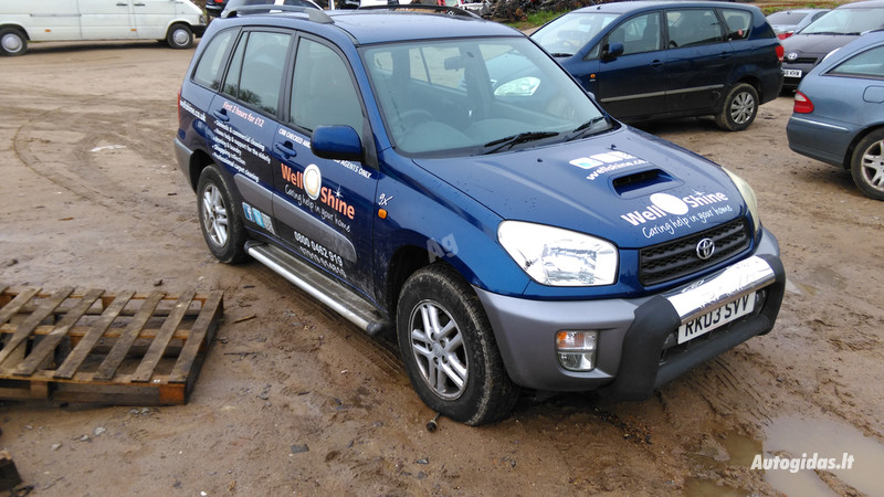 Toyota Rav-4 II 2003 y. parts