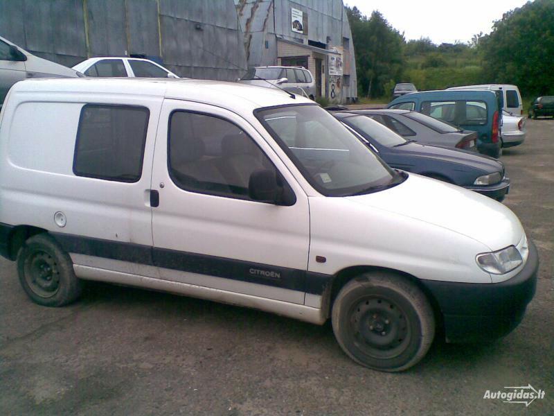 Peugeot Partner 1998 m dalys