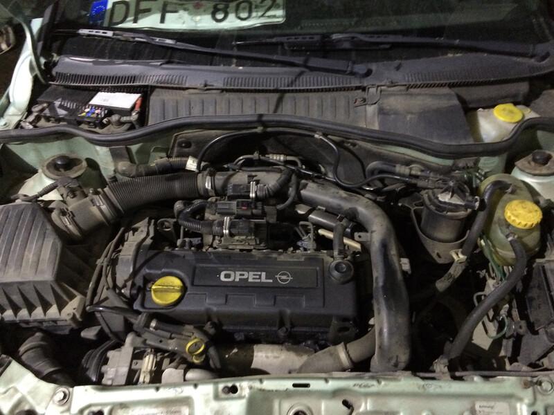 Opel Corsa C DI 2001 m. dalys