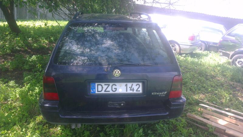 Volkswagen Golf III 1996 m. dalys