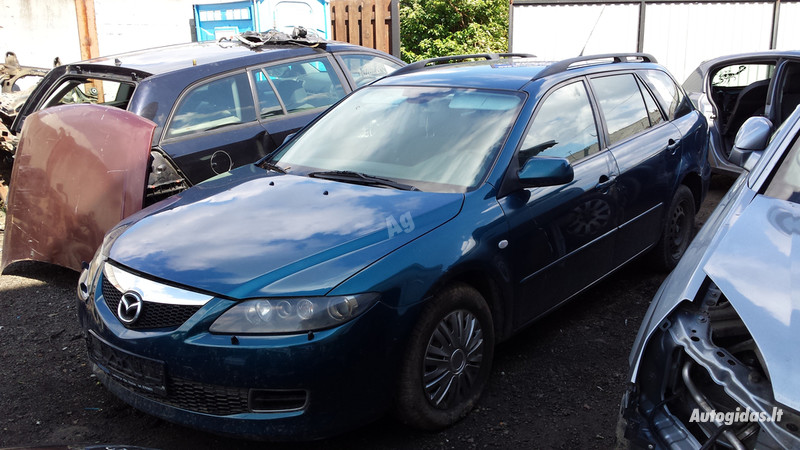 Mazda 6 I facelift 2007 m. dalys