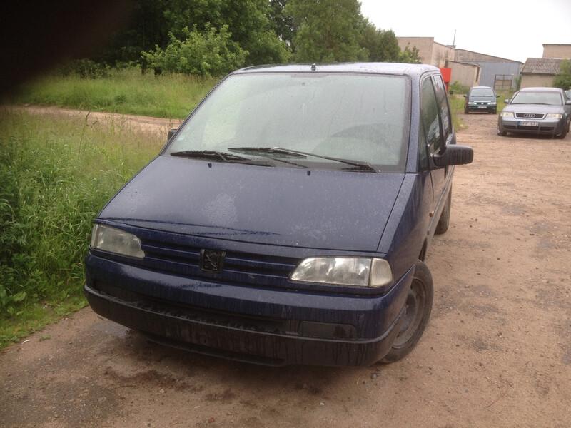 Peugeot 806 1998 y parts