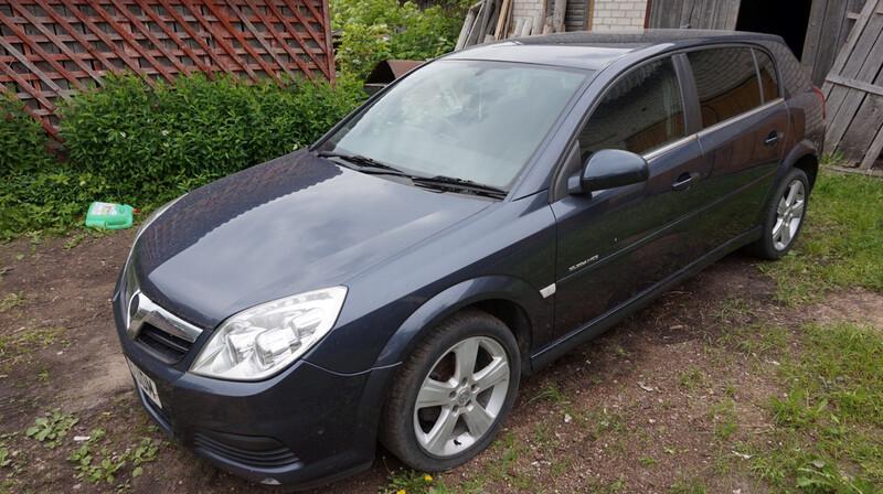 Opel Signum elegance 2007 m dalys