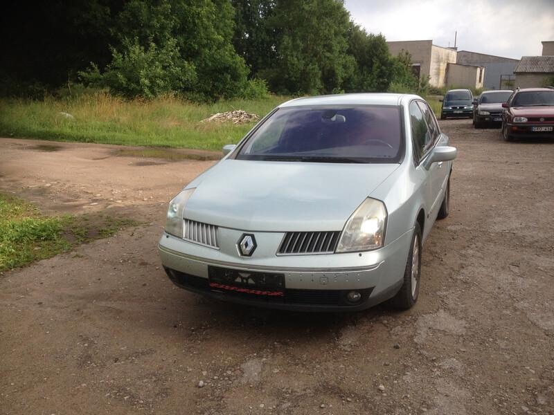 Renault Vel Satis 2003 m dalys