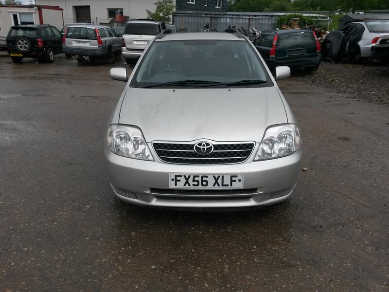 Toyota Corolla SERIA E12 2006 m. dalys