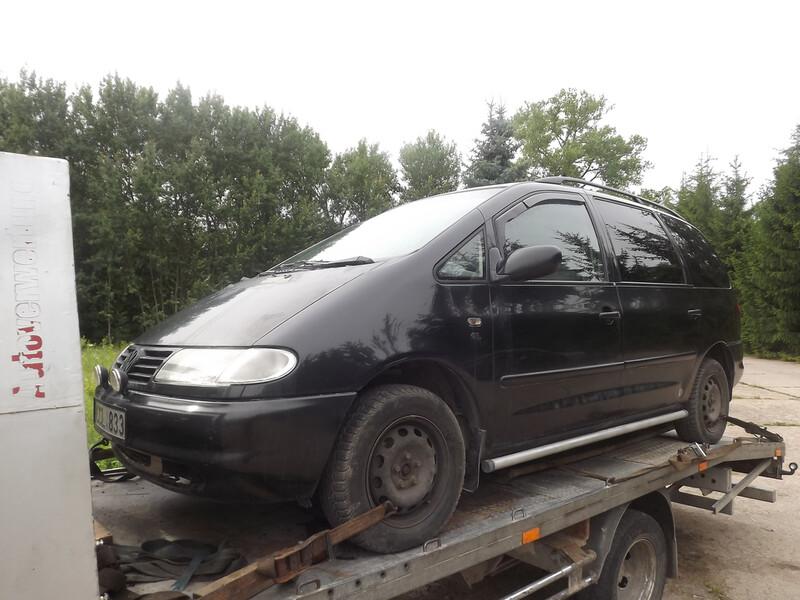 Volkswagen Sharan I 2.8 geras 1998 y. parts