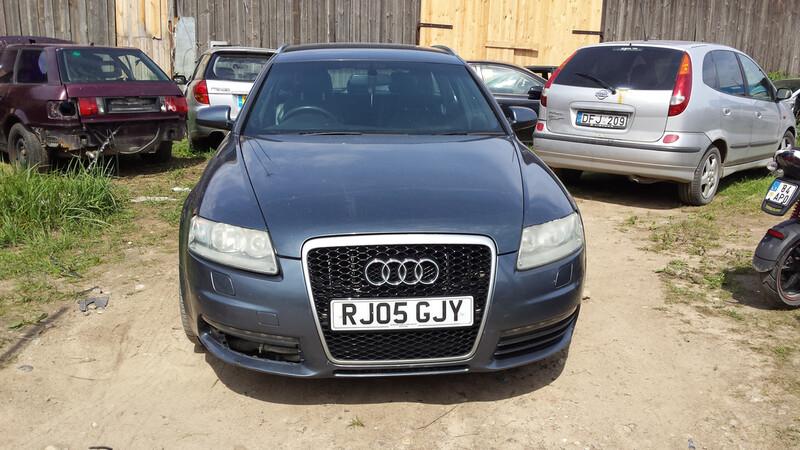 Audi A6 C6 S-LINE 2006 m dalys