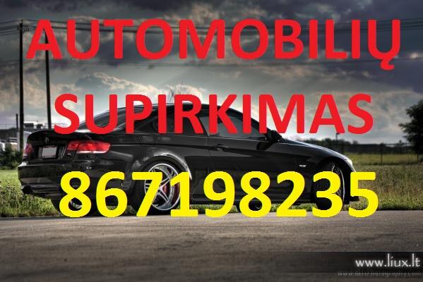 Automobilių supirkimas 867198235