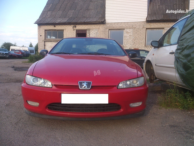 Peugeot 406 stag Dujos ODA 1999 m. dalys