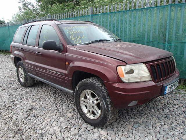 Jeep Cherokee II 2001 m dalys