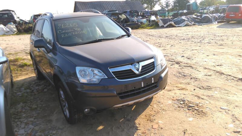 Opel Antara 2009 m dalys