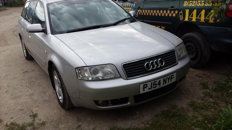 Audi A6 C5 96kw ODINIS SALONAS 2003 m. dalys