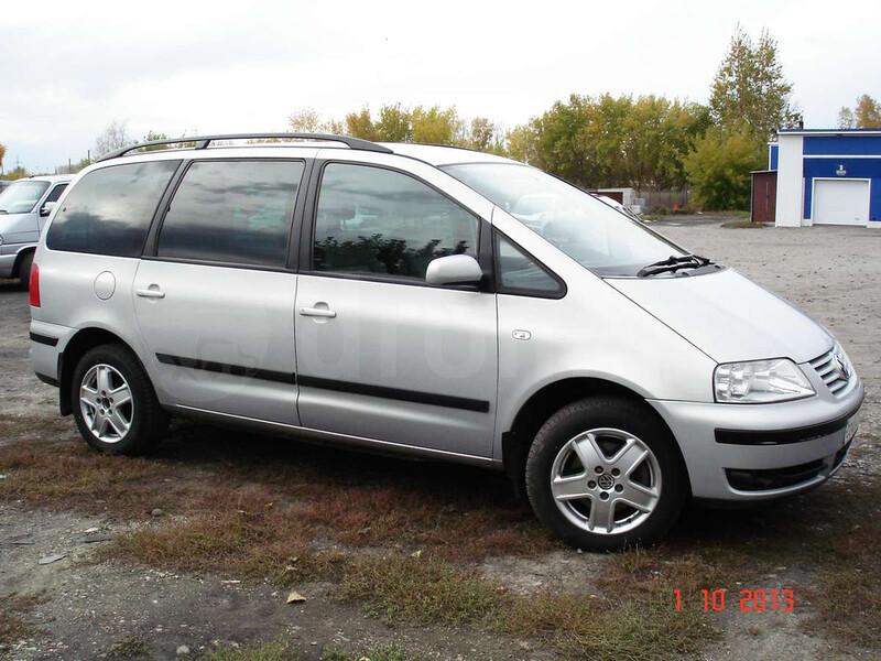 Volkswagen Sharan I 4 MOTION 2002 m dalys