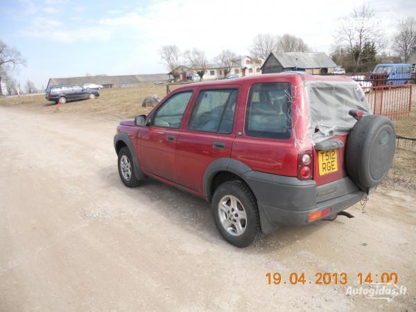 Land-Rover Freelander I 1998 y. parts