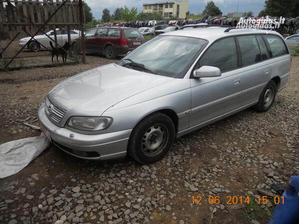 Opel Omega B FL 2001 y. parts