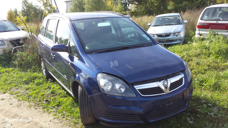Opel Zafira B direct 2007 m. dalys