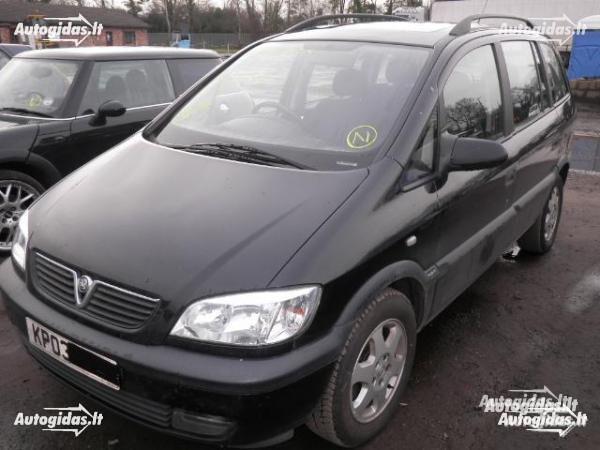 Opel Zafira A 2001 y. parts