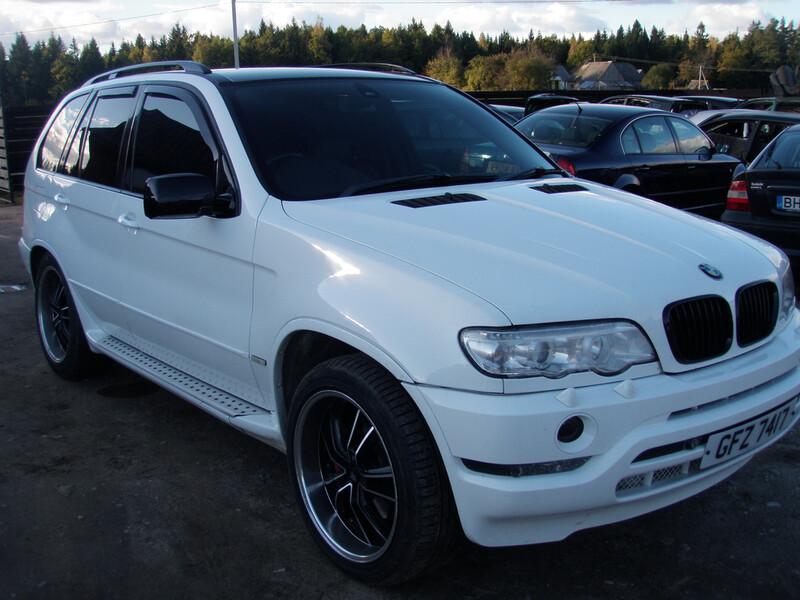 Bmw X5 E53 2003 г запчясти