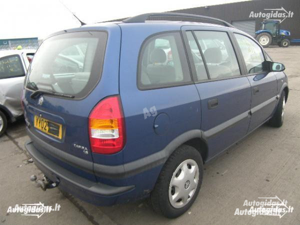 Opel Zafira A 2001 y. parts
