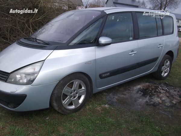 Renault Espace IV 2004 y. parts