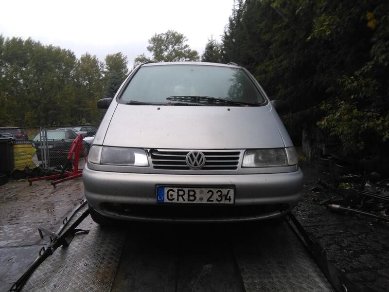 Volkswagen Sharan I 1.9 geras 7vetos 1998 m. dalys