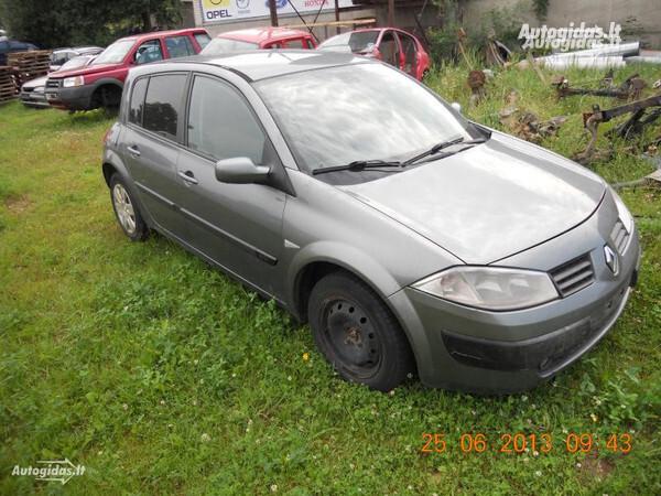 Renault Megane II 2004 y. parts