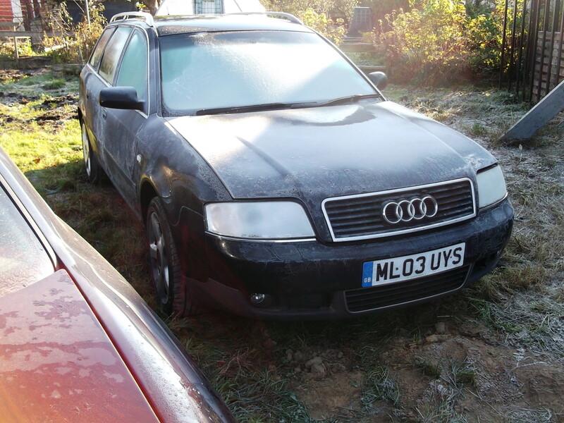 Audi A6 C5 BES Quatro 2002 m. dalys