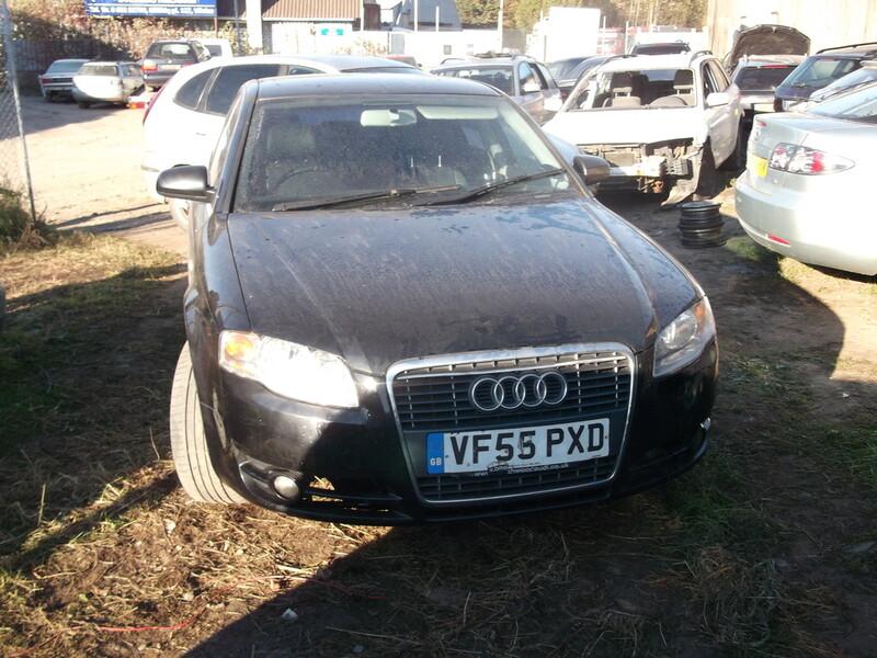 Audi A4 B7 BRE ODINIS SALONAS  2005 m dalys