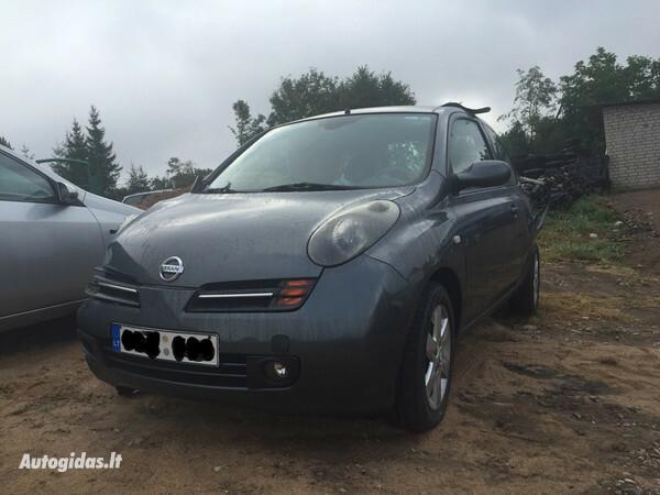 Nissan Micra K11 2003 y. parts