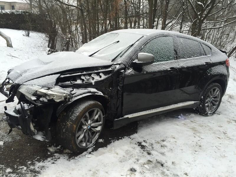 Bmw X6 E71 M50D 2012 m dalys