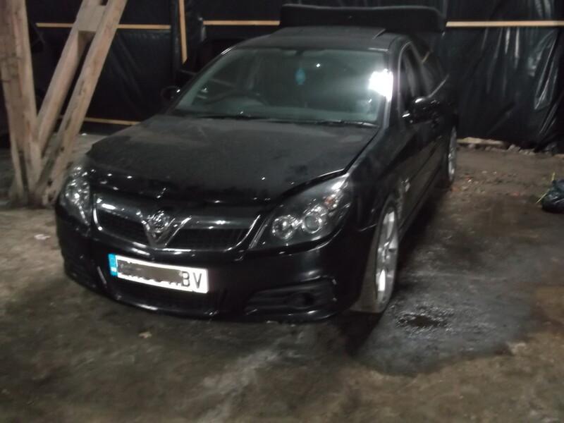 Opel Vectra C Direct 2007 m. dalys