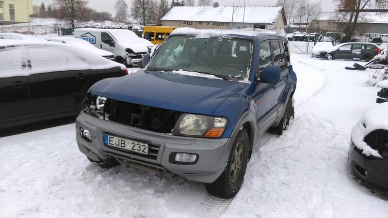 Mitsubishi Pajero III 2003 y. parts