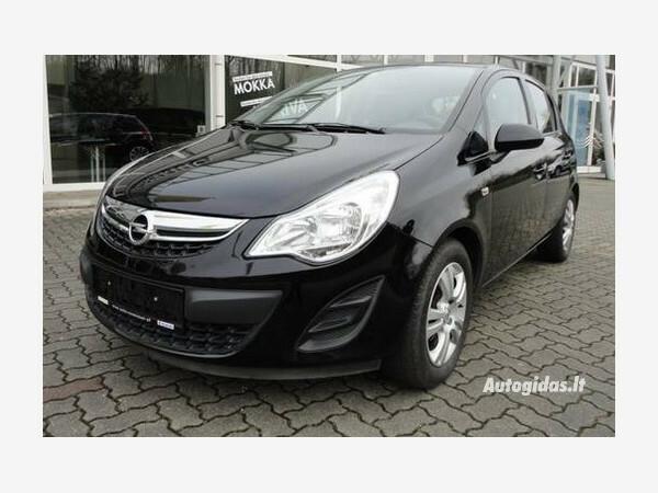 Opel Corsa D 2011 y. parts
