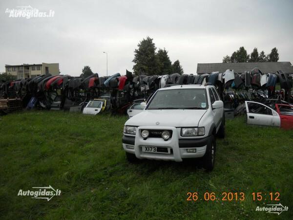 Opel Frontera B 2001 y. parts