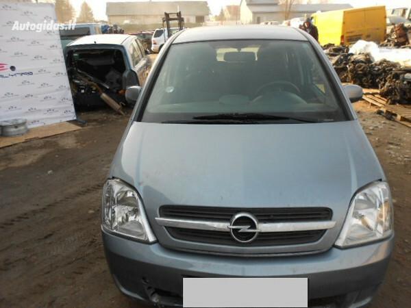 Opel Meriva I 2004 y. parts