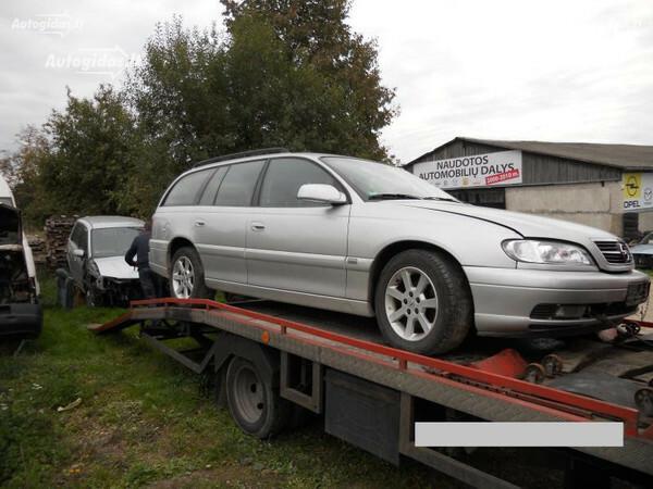 Opel Omega B FL 2002 y. parts