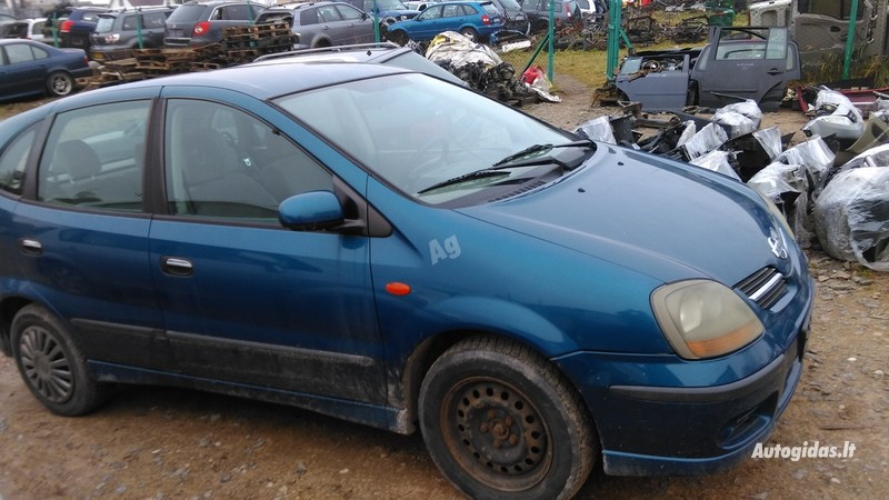 Nissan Almera Tino 2001 y. parts