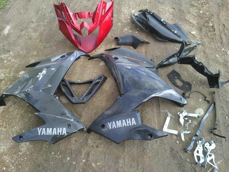 Klasikinis / Streetbike  Yamaha XJ 2010 m dalys