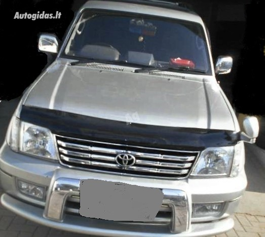 Toyota Land Cruiser IV 2002 y. parts