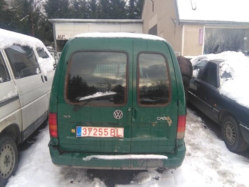 Volkswagen Caddy II 1.9 sdi vokiskas 1998 m. dalys