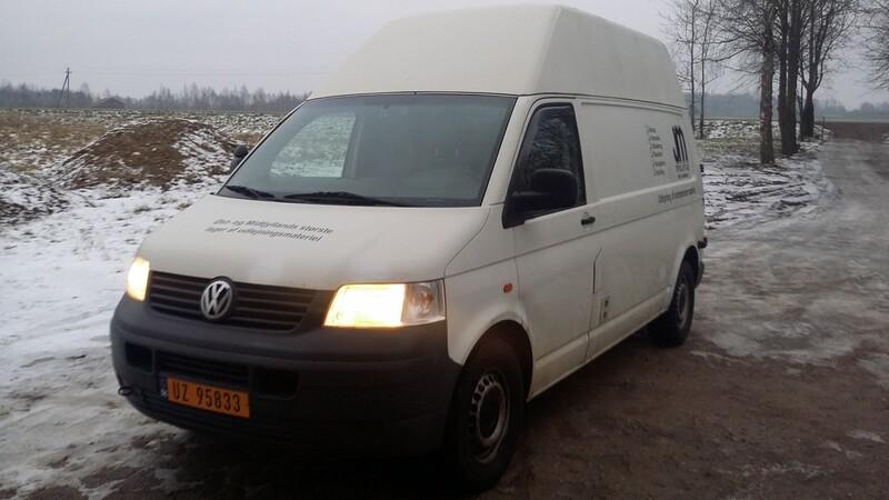 Volkswagen Transporter T1 2007 m dalys