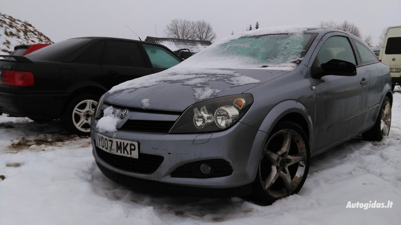 Opel Astra II 2007 y. parts