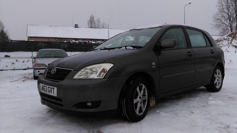 Toyota Corolla SERIA E12 2004 y. parts